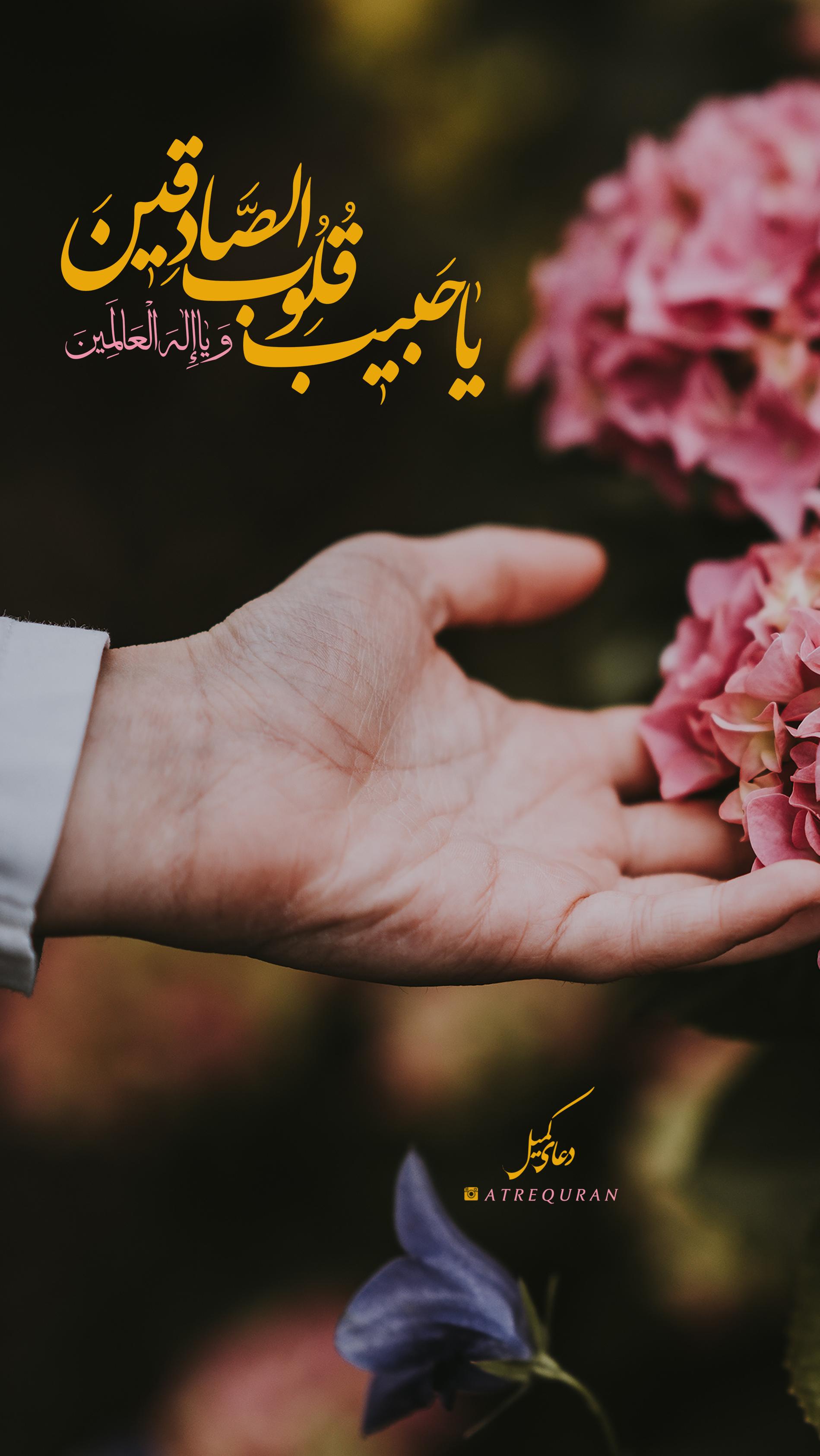 یا حبیب قلوب الصادقین و یا اله العالمین